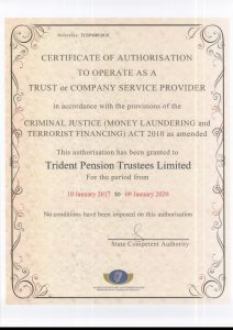 trident-pension-trustees-ltd-certification-of-authorisation-as-a-tcsp